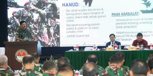 "Pembentukan Tiga Satuan Baru TNI, Panglima TNI: ""Wujudkan organisasi TNI yang adaptif hadapi kompleksitas spektrum ancaman"""
