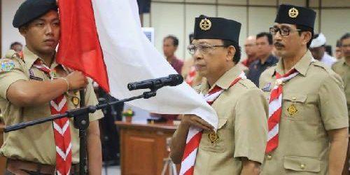"""Dikukuhkan sebagai Ketua Mabida Kwarda Bali, Gubernur Koster: """"Gerakan Pramuka ciptakan generasi Pancasilais"""""""