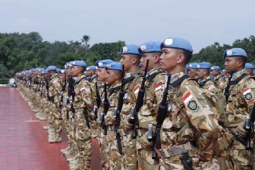 2.166 Prajurit Satgas TNI Kontingen Garuda UNIFIL kembali ke Tanah Air
