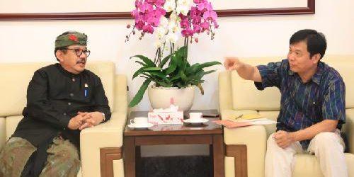 """Wagub Cok Ace Bertemu Konjen China, Sebut Bali Punya Kekuatan """"Khusus"""""""