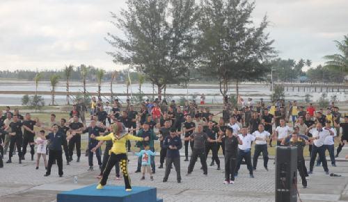 Pasca Evakuasi 238 WNI dari Wuhan, Pangkogasgabpad Ajak Masyarakat Olahraga Bersama