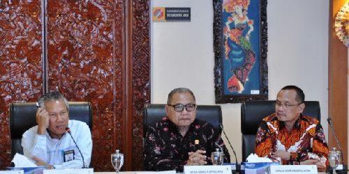 Komisi D DPRD Jatim Belajar Implementasi Perda Pemeliharaan Keselamatan Umum dan Ruang Bebas Hantaran Listrik di PLN Bali