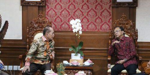 Wakil Ketua MPR Temui Gubernur Bali Serap Aspirasi Rencana Amandemen UUD NRI Tahun 1945