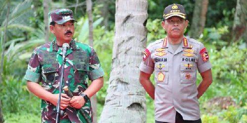 Panglima TNI Tinjau Lokasi Observasi WNI di Pulau Sebaru
