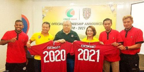 Jadi Sponsor Resmi Bali United, Logo Coco Mart ada di Jersey Utama Pemain