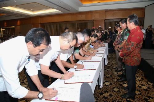 Penandatanganan Force Down Pesawat Asing Optimalkan Penegakan Hukum