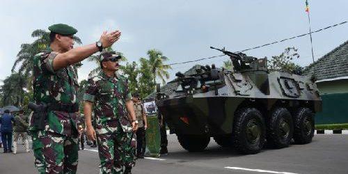 Panglima TNI Resmikan Wind Tunnel Sky Diving Center Divisi 2 Kostrad