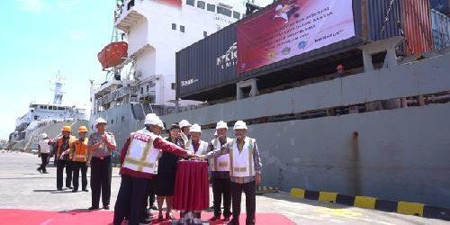 Pelabuhan Benoa Kirim Perdana Ekspor Jalur Laut, Bebaskan Bali dari Lalu Lintas Peti Kemas via Darat