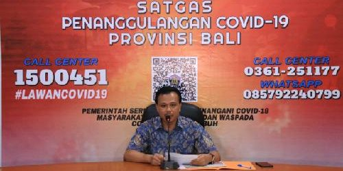 """Cegah Penyebaran Covid-19, Sekda Bali: """"Tutup kunjungan di obyek wisata dan tidak melaksanakan pengarakan ogoh-ogoh"""""""