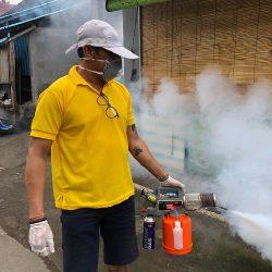 DBD Mengancam, Mang Banu Lakukan Fogging