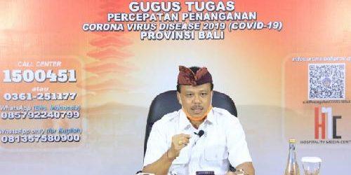 Kasus Covid-19 di Bali, 63 Orang Positif