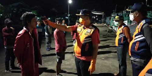 Satgas Covid-19 Dishub Denpasar Karantina 15 Calon ABK