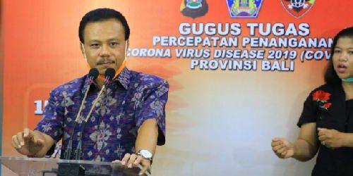"""Ketua Harian Gugus Tugas Percepatan Penanganan Covid-19 Provinsi Bali: """"124 Positif, Sembuh 36 Orang"""""""