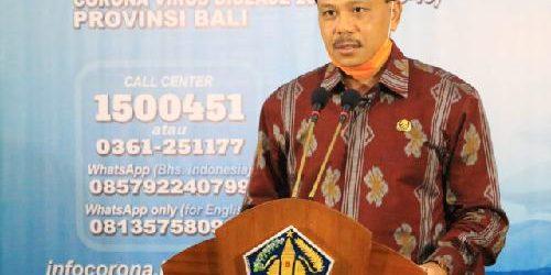 """Strategi Penanganan Covid-19 Tiap Daerah Berbeda, Dewa Indra: """"Tergantung sumber resikonya"""""""