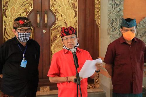 Gubernur Koster Siapkan 3 Skema dan Paket Kebijakan Penanganan Covid-19