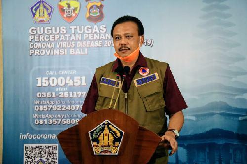 """Kasus Positif Covid-19 dari Transmisi Lokal Bertambah, Dewa Indra: """"Harus disiplin lagi patuhi imbauan pemerintah"""""""