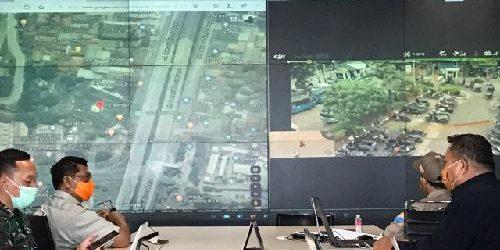 Gugas Covid-19 Pantau OTG Gunakan Drone