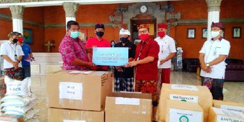 """""""Dedikasi Untuk Negeri"""", Rai Wirajaya dan BMPD Bali Bantu Pemkab Buleleng Cegah Covid-19"""