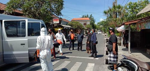 Membandel, Satgas Covid-19 Denpasar Jemput 3 OTG