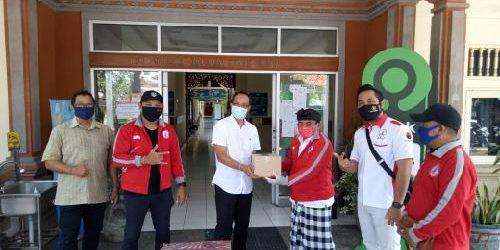 """DPD TMP Bali Bantu APD kepada RSUD Wangaya, Rai Wirajaya: """"Semangat tim medis jadi motivasi lawan covid-19"""""""