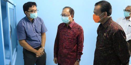 """Di Bali Kini Ada 3 Lab PCR Covid-19, Gubernur Koster: """"Kapasitas uji sampel 450 per hari"""""""