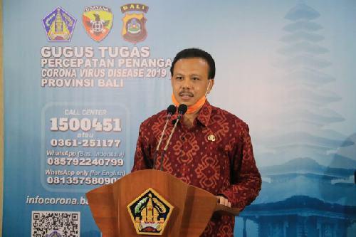 Di Bali Kasus Positif 287 Orang, Transmisi Lokal 108 Orang