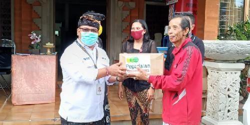 """""""Pedagaian Peduli"""", Salurkan 300 Paket Sembako kepada Warga Terdampak Covid-19"""