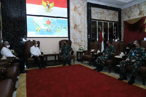 Rajut Silahturahmi, Kepala BNPT Audiensi ke Panglima TNI