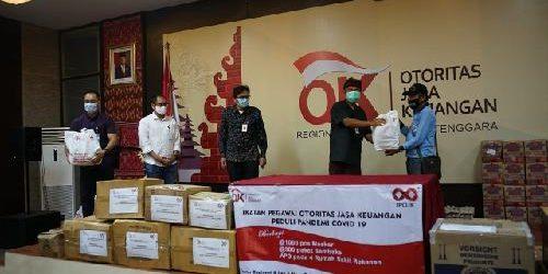 Potong Gaji Sejak April hingga Desember 2020, Ikatan Pegawai OJK Bali Sumbang Paket Sembako dan APD