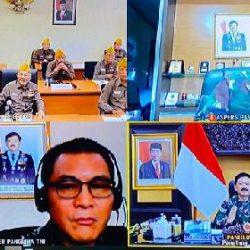"Silahturahmi Virtual TNI dengan LVRI, Panglima TNI: ""TNI dan LVRI bantu percepat penanganan covid-19"""