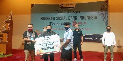 Peduli Dampak Covid-19, Bank Indonesia Provinsi Bali Gelontorkan 1.300 Paket Sembako dan Sarana Kesehatan
