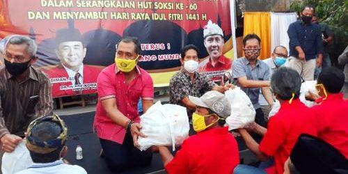 Sambut Idul Fitri 1441 Hijriyah, Gus Adhi Santuni Anak Yatim dan Serahkan 1.100 Paket Sembako