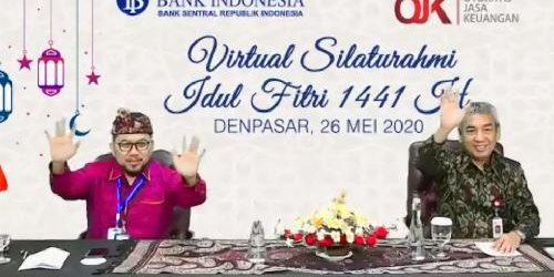 """Silahturahmi Idul Fitri 1441 H KPw BI Bali, """"Jauh Dimata Dekat Dihati"""""""