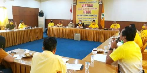 "Golkar Bali Gelar Rapat Evaluasi Pilkada, Sugawa Korry: ""Di Denpasar dan Badung siapkan kejutan"""