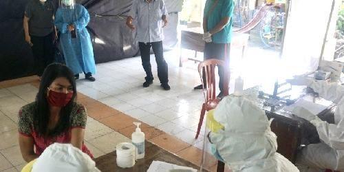 Rapid Test 160 Warga Desa Tegal Harum, Semuanya Non Reaktif