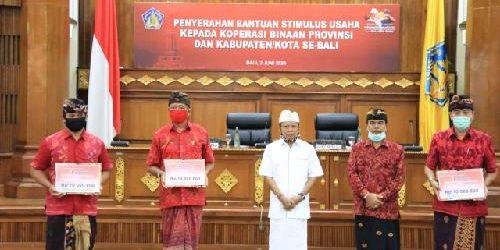 """Pemprov Bali Beri Bantuan Stimulus kepada Koperasi, Gubernur Koster: """"Bali yang pertama melakukannya"""""""