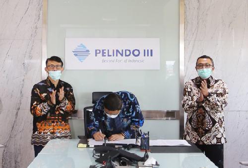 Teken MOU dengan HIPMI, Pelindo III Tingkatkan Kerja Sama Bisnis dengan Swasta