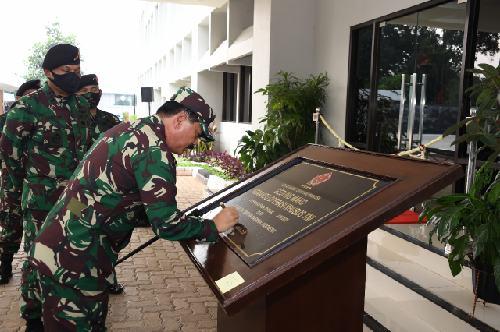 "Resmikan Mako Koopssus TNI, Panglima TNI: ""Koopssus TNI gabungkan kekuatan  kinetik dan non-kinetik"""