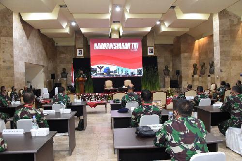 """Rakornisjarah TNI Bentuk Kesadaran Generasi Milenial """"Genta Bangsa"""", Cinta Sejarah Bangsa Indonesia"""