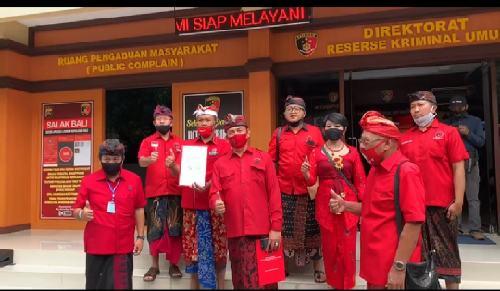 PDI Perjuangan Desak Kepolisian Usut Tuntas Pelaku dan Dalang Pembakaran Bendera Partai