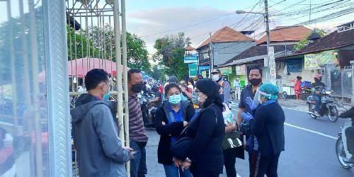 GTPP Denpasar Lakukan Monitoring Penerapan Protokol Kesehatan dan Kenyamanan Berniaga