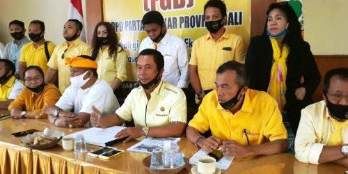 "Satgas Pengaduan Hukum Covid-19 Golkar Bali Laporkan Hasil Kerja, Wayan Muntra: ""Laporan paling banyak soal BLT"""