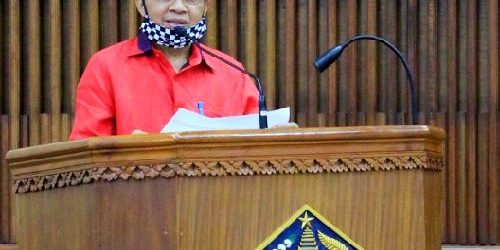 """Pemprov Gelontor Rp.10 M untuk Percepat Penanganan Covid-19 di Denpasar, Gubernur Koster: """"Kita bangun semangat gotong royong"""""""