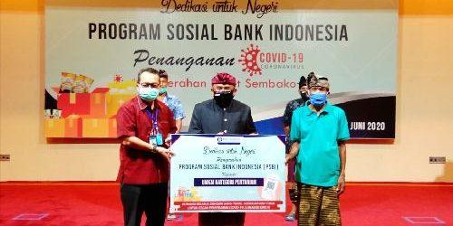 """Program Sosial BI Bali """"Dedikasi Untuk Negeri"""", Gelontor 1.750 Paket Sembako dan Sarana Kesehatan"""