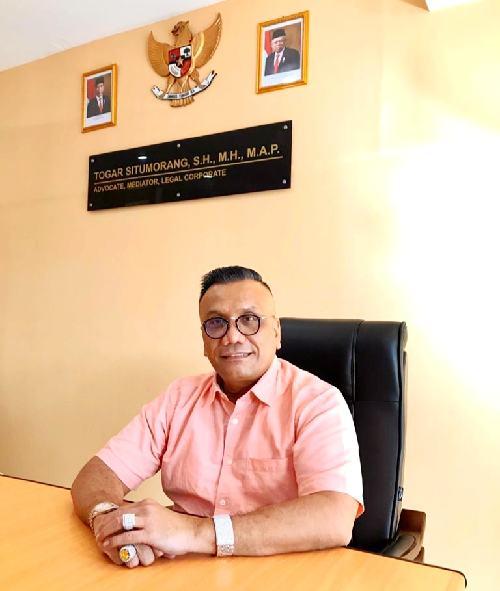 """PDIP Laporkan Aksi Pembakaran Bendera Partai ke Polisi, Togar Situmorang: """"Itu bentuk kematangan sebagai partai politik"""""""