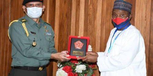Athan RI Bertemu Menhan Nigeria, Perkuat Kerjasama Militer Pertahanan