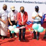 Pantai Pandawa Dibuka kembali dan Diresmikan Sebagai DTW Berbasis Digital, Pembayarannya Pakai QRIS