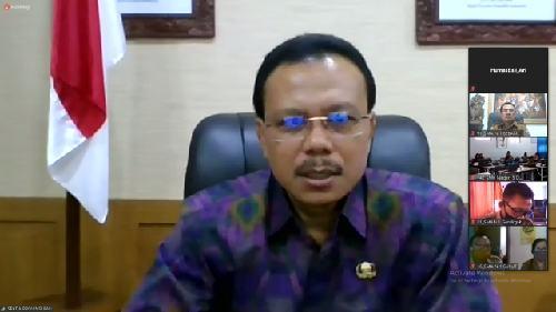 Tahun Ajaran Baru 2020/2021, Ini Arahan Sekda Dewa Indra kepada 145 Kepala SMA/SMK/SLB Negeri se-Bali!