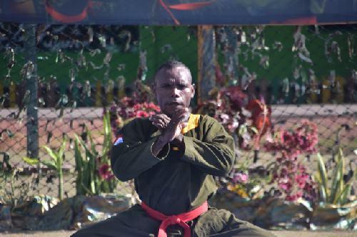 Kejuaraan Beladiri Militer Tersebar Piala Kasad Tahun 2020, Prada Rajami Uryo Ukir Prestasi Gemilang