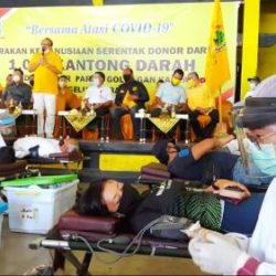 Luar Biasa! Gerakan Kemanusiaan Donor Darah Golkar Bali, Terkumpul 1.000 Lebih Kantong Darah